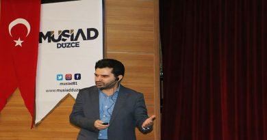 MÜSİAD Düzce Şubesinin Düzenlediği İslam ve İktisadi Hayatımız Konferansı